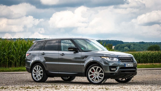 comparison Land Rover