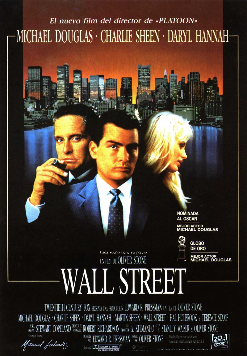 Resolution: 434x891 pixels, wall street 1987 poster 72358 you can download these images to set as desktop background